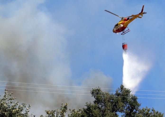 Meio aéreo de combate a incêndio