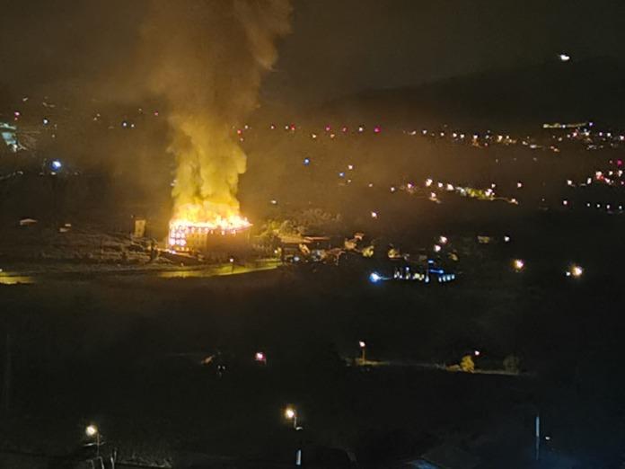 Incêndio em Pombeiro