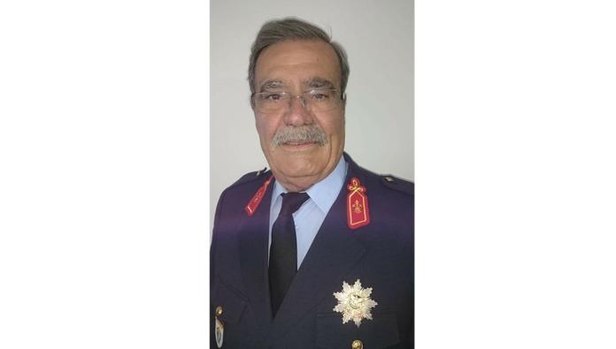 Subchefe Carlos Costa, Bombeiro do Quadro de Honra - Fotografia: Semanário de Felgueiras