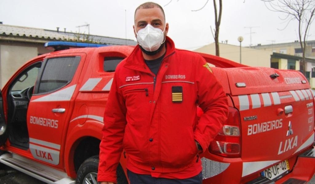Vítor Hugo Meireles, Comandante dos Bombeiros da Lixa - Semanário de Felgueiras