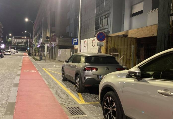 Estacionamento abusivo - Semanário de Felgueiras